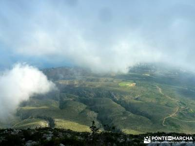 Montgó - Catedral Senderismo- Cova Tallada; rutas senderismo aracena definicion de senderismo grupo